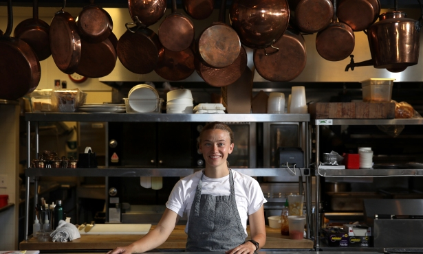 Bell's Daisy Ryan Named 'Best New Chef' by 'Food & Wine' Magazine