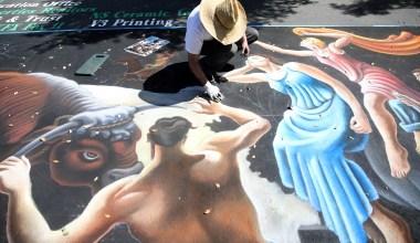 I Madonnari Italian Street Painting Festival 2020