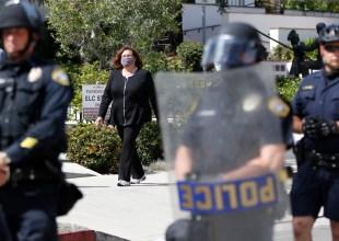 Santa Barbara Saw 3,000 Protesters in the Sunken Gardens