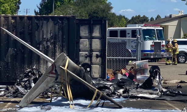 Plane Crashes into Ralph Dunlap Elementary in Orcutt, Killing Pilot
