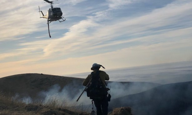 Hollister Ranch Fire Reaches 10 Percent Containment