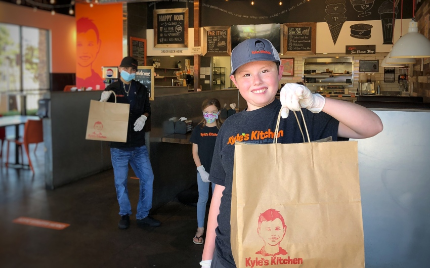 Kyle's Kitchen Donating Meals to Special-Needs Families