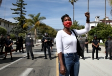 Santa Barbara Meets Black Lives Matter Demands
