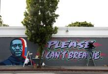Haley Street Mural Honors George Floyd