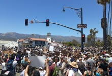 Sunday's Peaceful Protest Against Police Brutality Draws Thousands in Santa Barbara