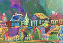 Hillside Resident's Painting Offers Hope During Pandemic