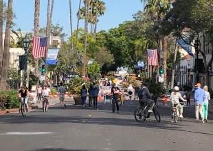 State Street Euphoria: Santa Barbara's Past Crashes into Present
