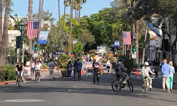 State Street Euphoria: Santa Barbara's Past Crashes into Present
