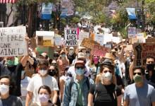 Santa Barbara Takes a Knee Against Racial Injustice