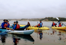 Kayaking the Goleta Coast with Kids
