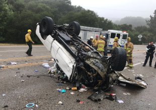 Fatal Collision on Santa Barbara's 154 Highway