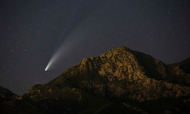 Where to Find Comet NEOWISE in Santa Barbara's Night Sky