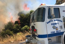 Homeless Camps and Fires a Challenge for Goleta During COVID