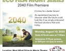 Eco Film Night Series 2040 Film Premiere