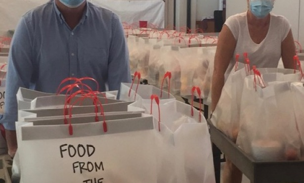 Food from the Heart Continues Providing Healthy Meals During Pandemic