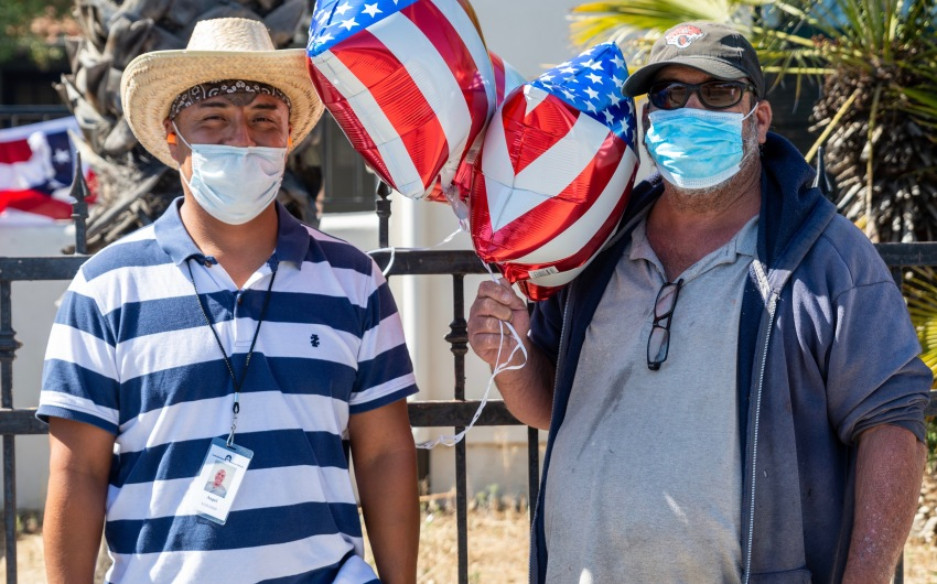 Rescue Mission Holds 4th of July BBQ Dinner for Homeless Guests