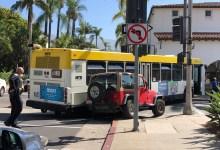 Bus Crash Closes Anacapa Street at Figueroa