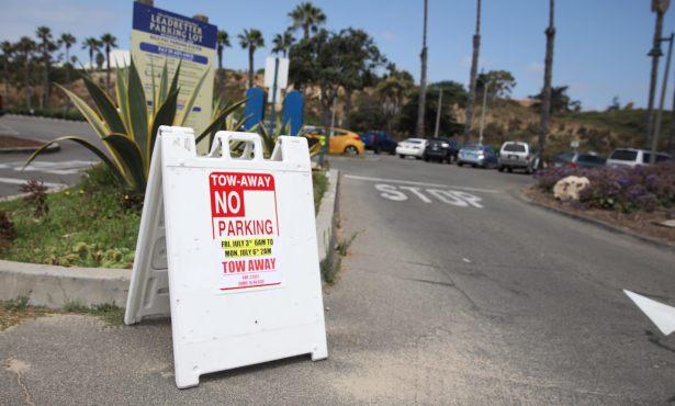 City of Santa Barbara Closes Beach Parking
