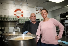 Organic Soup Kitchen Hits the Road and Phones