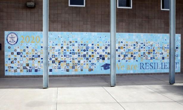Dos Pueblos High's Class of 2020 Completes Graduation Mural