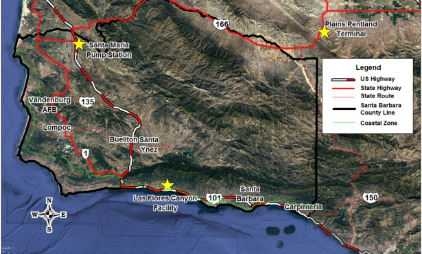 Santa Barbara County Set to Vote on ExxonMobil's Proposal to Truck Oil on Highway 101 and Route 166
