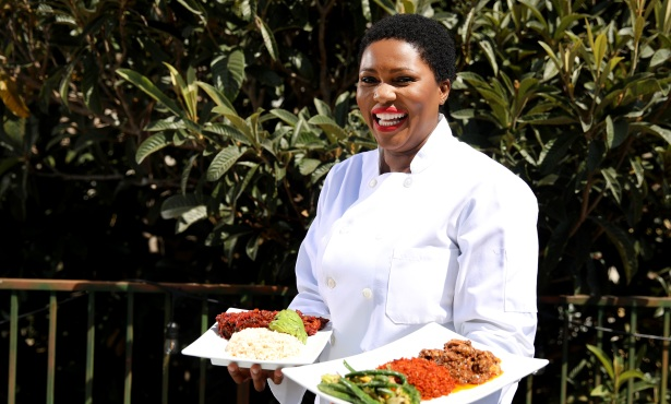 Patience Ncube Brings African Cuisine and Clothing to Santa Barbara