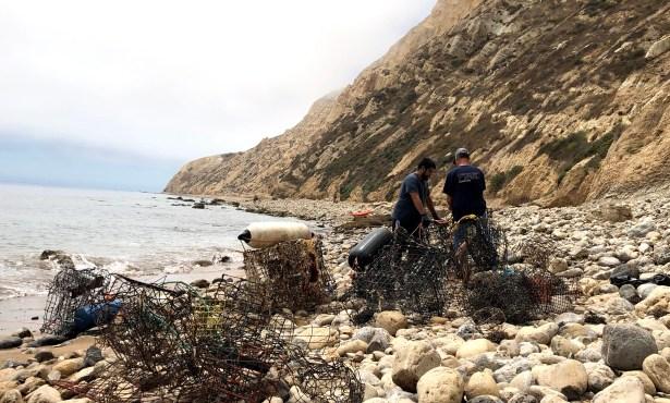 Clean Seas Program Rids Santa Cruz Island of Thousands of Pounds of Debris