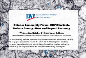 COVID in Santa Barbara County Now & After Recovery