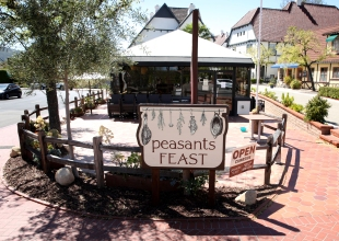 Noble Epicurean Intentions at Peasants Feast in Solvang
