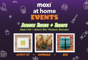 MOXI@Home Events: Science Tricks + Treats