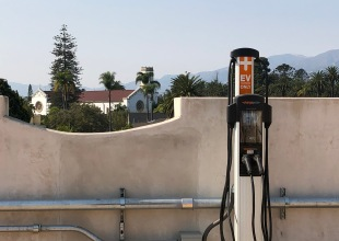 30 New Electric-Vehicle Charging Stations atop Granada Parking Garage