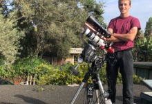 Santa Barbara Astrophotography Whiz Kid Recognized by Royal Greenwich Observatory