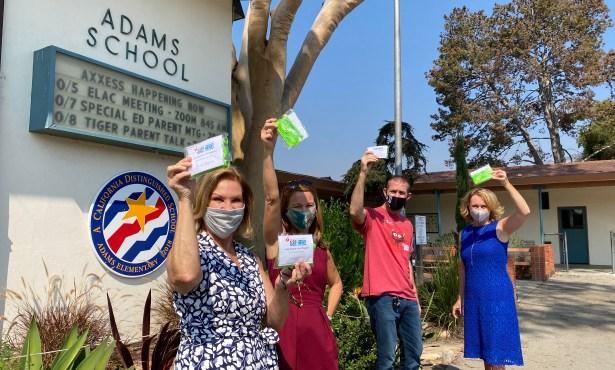 Keeping Students Active in Santa Barbara