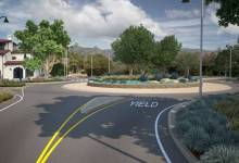 Olive Mill Roundabout in Montecito Moves Closer to Construction