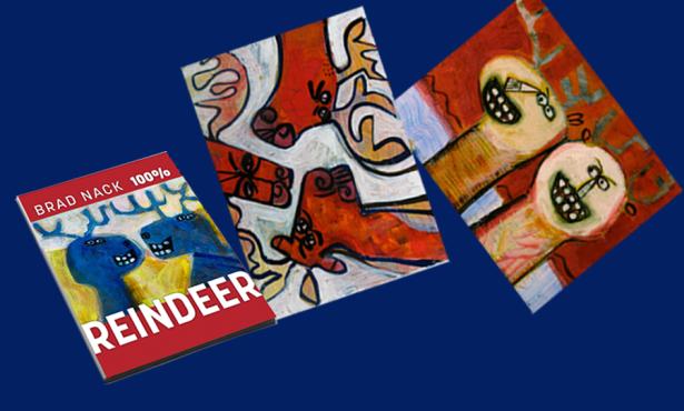 Brad Nack's 100% Reindeer Art Book