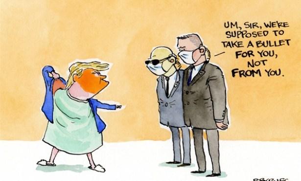Trump Meets the Virus