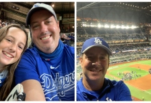 Santa Barbarans See Dodgers Through to a World Series Championship