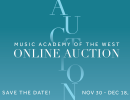 Music Academy of the West Online Auction