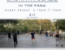 Bachata Dance Class in The Park!
