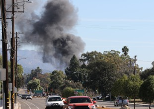 Noleta Garage Blaze Defeated by Firefighters