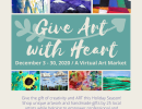 Give Art with Heart Virtual Artist Exhibition