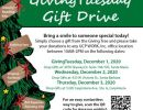 Gift Drive to Support Adults with Disabilities
