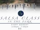 Salsa Dance Class in the Park!