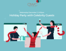 AWC S.B. Virtual Holiday Party with Celebrity Guests