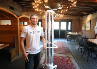 R-Zero's UVC Lamp Fights COVID in Restaurants, Classrooms, and Beyond