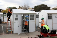 Tiny Pallet Homes To House Homeless Underway in Isla Vista