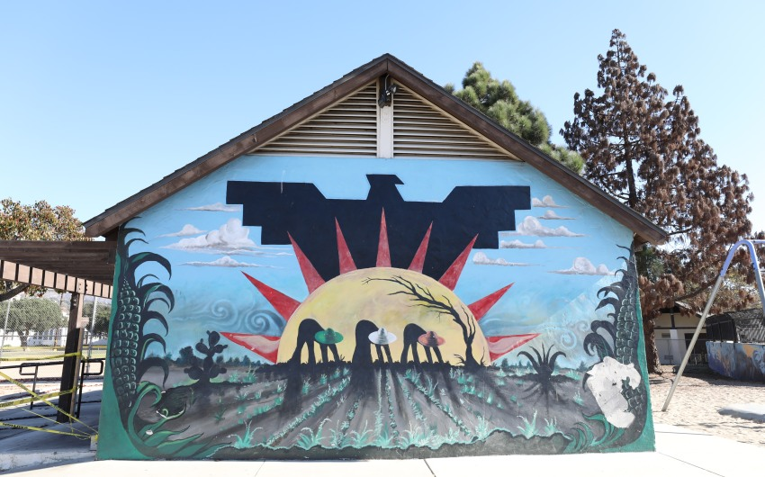 Scheduled for Destruction, Historic Ortega Park Murals May Now Be Saved