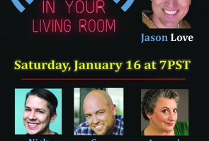 Live Comedy in Your Living Room