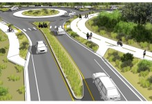 New Pedestrian-Way Begins for Las Positas Road