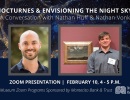 Zoom Event: Nocturnes & Envisioning the Night Sky